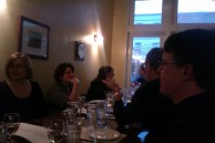 La Parnada at Le Virtu. The dining room.