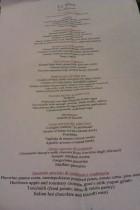 Le Virtu. La Parnada menu. Abruzzo cuisine. Philadelphia