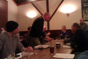 Stoney Creek Homebrewers monthly meeting