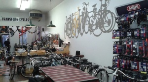 Frequenting Firth & Wilson Transport Cycles at 933 Spring Garden clued them into the spot at 931.