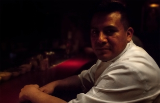 Dionicio Jimenez in The Ranstead Room