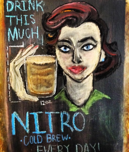 Best nitro cold brew in Philadelphia. Green Street Coffee.