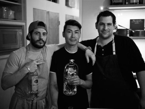 Balboa Dim Sum Casual Dinner Chefs: Ryan Fitzgerald, Huy Pham, and Alex Garfinkel. by Ronald Waite; courtesy of Balboa.