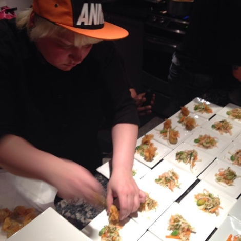 Doreen Demarco, the new sous chef at American Sardine Bar.