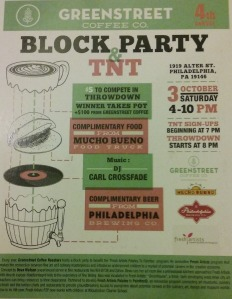 Green Street Coffee Annual Block Party