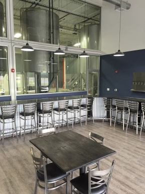 The tasting room at Double Nickel Brewing Co.