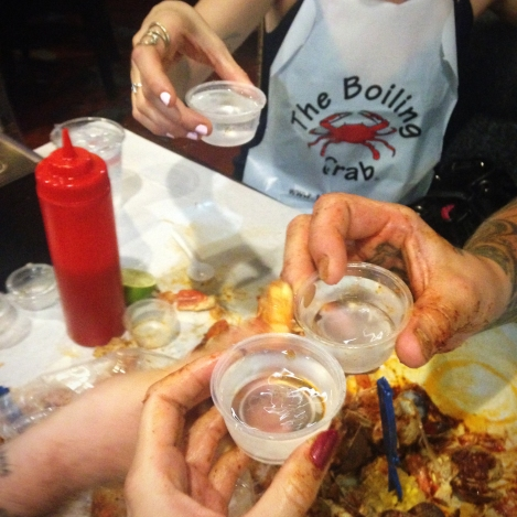 The Boiling Crab. courtesy of Jacki Philleo.