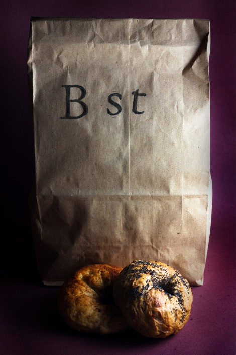 B Street Bagels. New Bagel Shop. Philadelphia.