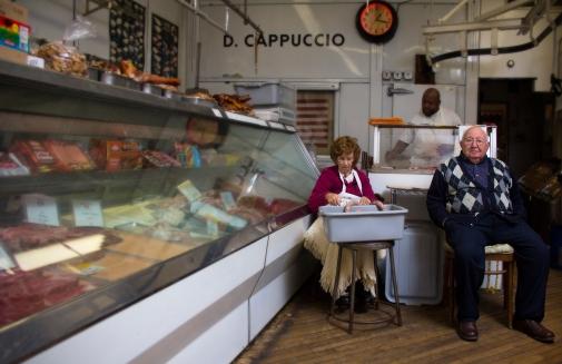 Cappuccio's Meats. Philly. Italian Market.