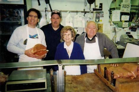 Cappuccio's Meats. Italian Market. Philadelphia.
