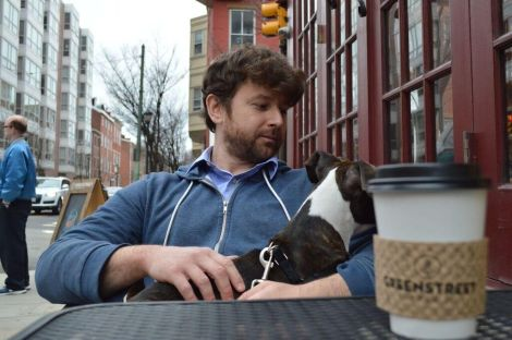 Outdoor sidewalk seating in Philly for you and your dog